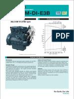 Kubota V2403-M-DI-E3B Specification - CAT C2.4 304E & 305.5 E & 306E2 Engine