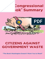 Citizens Against Government Waste (CAGW)2020 Congressional Pig Book