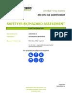 Air-Compressor-290-CFM-Risk-Assessment