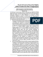 DEED OF GRANT OF SECURITY RIGHTS (APHT).doc