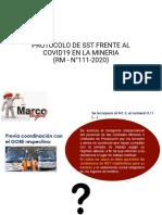 PROTOCOLO DE SST FRENTE AL COVID19 EN LA.pptx
