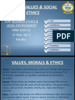 Ethics with answers