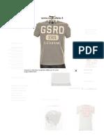 Negozio G-Star Raw maglietta Wilkinson R Castor Grigio DJE302413