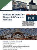 TECNICAS DE REVISION Y RIESGOS DEL COMISARIO MERCANTIL