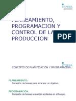 Planificacion y Programacion (Camino Crítico)