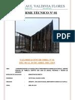 Informe Mensual 01 - Abril 2019