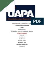 tarea 5 de psicologia social y catarea 1omunitaria