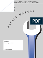 ZF220A Parts and Service Manual