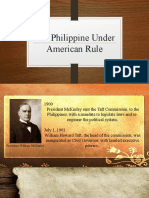 Chapter 12 The Philippines Under the American Rule
