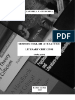 Literary Theory And Criticism An Oxford Guide Pdf