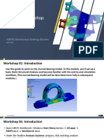 Workshop to practics ANSYS 19.2