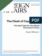 Branko Milanovic - The Clash for Capitalisms