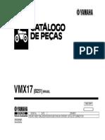 yamaha catalogo VMAX 1200 2014/15