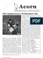 Spring 2009  Acorn Newsletter - Salt Spring Island Conservancy
