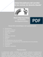 La responsabilidad disciplinaria del servidor público a la luz de las normas de derecho blando (presentación) (1).pdf.pdf