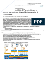 Capabilities Matrix_ Which SAP product to use to expose your business data as OData service for UI consumption
