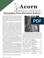 Winter 2010  Acorn Newsletter - Salt Spring Island Conservancy