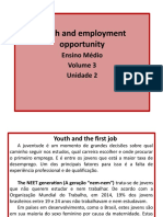 Unidade 2 - Youth and Employment Opportunity