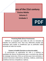 Unidade 3 - Professions of the 21st Century
