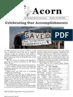 Fall 2010  Acorn Newsletter - Salt Spring Island Conservancy