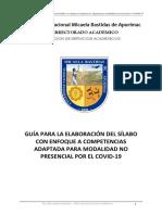 GUIA DE ELABORACION DE SILABO NO PRESENCIAL Covid-19 (2)