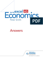 Edexcel AS Economics Answers