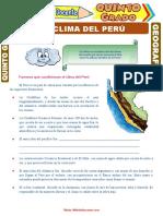 El-Clima-del-Perú-para-Quinto-Grado-de-Primaria