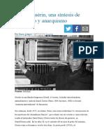 Daniel Guérin una síntesis de marxismo y anarquismo