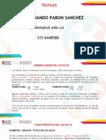 GENERALIDADES Y TITULACIÓN DE HILOS.pptx