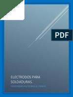 ELECTRODOS PARA SOLDADURAS