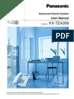 KX TEA308 User Manual