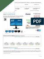 iiyama ProLite B2791QSU-B1 (B2791QSU-B1) _ achat _ vente Ecran pour PC sur PC21.FR