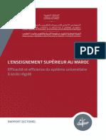Enseignement supérieur au Maroc