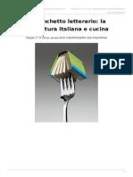 Un banchetto letterario - La letteratura italiana e la cucina