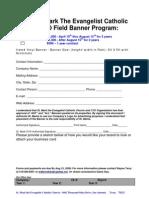 2008 CYO Field Banner Program
