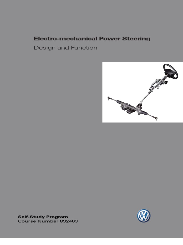 Electro Mechanical Power Steering Gear Daihatsu Eps Wiring Diagram