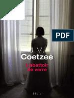 Coetzee, J M - L'abattoir de verre