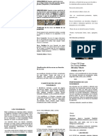 Rocas y minerales triptico para CTA