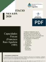 Capacitación Capacidades EDAS (Coordinativas y Flexibilidad)