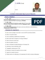 CV EDOH LUC TS BTP actualiser 2020