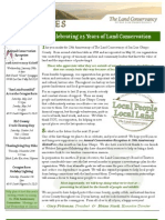 Jan-Feb 2009 Landlines Newsletter ~ Land Conservancy of San Luis Obispo County