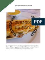 sándwich Cubano de la pélicula Chef