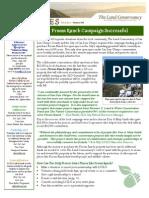 Summer 2010 Landlines Newsletter ~ Land Conservancy of San Luis Obispo County