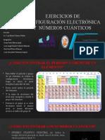 Configuración Electrónica y Números Cuánticos