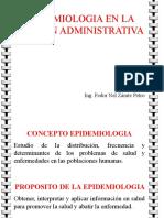 Clase 1 Epidemiologia Admin