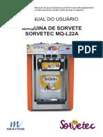 Manual máquina de sorvete MQ-L22A