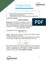 MATEMATICA - 5TO - TEMA 1. GRANDES NUMEROS