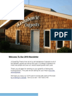 2010 Kashabowie Outposts Annual Newsletter