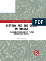 (Routledge Approaches to History 23) Robert Leroux - History and Sociology in France_ From Scientific History to the Durkheimian School-Routledge (2017)