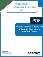 Elaborer_PCA_ISO22301_v5